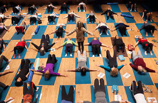 JCC in Manhattan's New Year's Day Fitness Fair