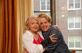 Edie Windsor and Roberta Kaplan