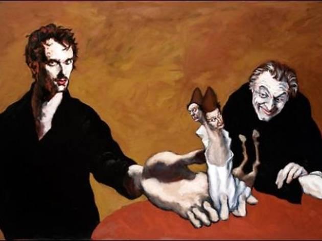 (Gérard Garouste, 'Wagner, Méphistophélès et l'Homonculus', 2013 / Courtesy de la galerie Daniel Templon, Paris)