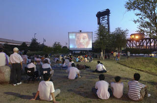 Families flock to the riverfront Ping Tom Park in Chinatown for screenings under the stars.