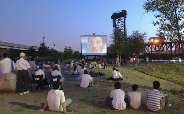 Outdoor movies in Chicago