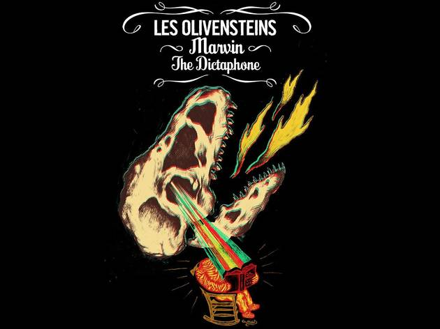 Gonzaï XXI : Olivensteins + Marvin & The Dictaphone