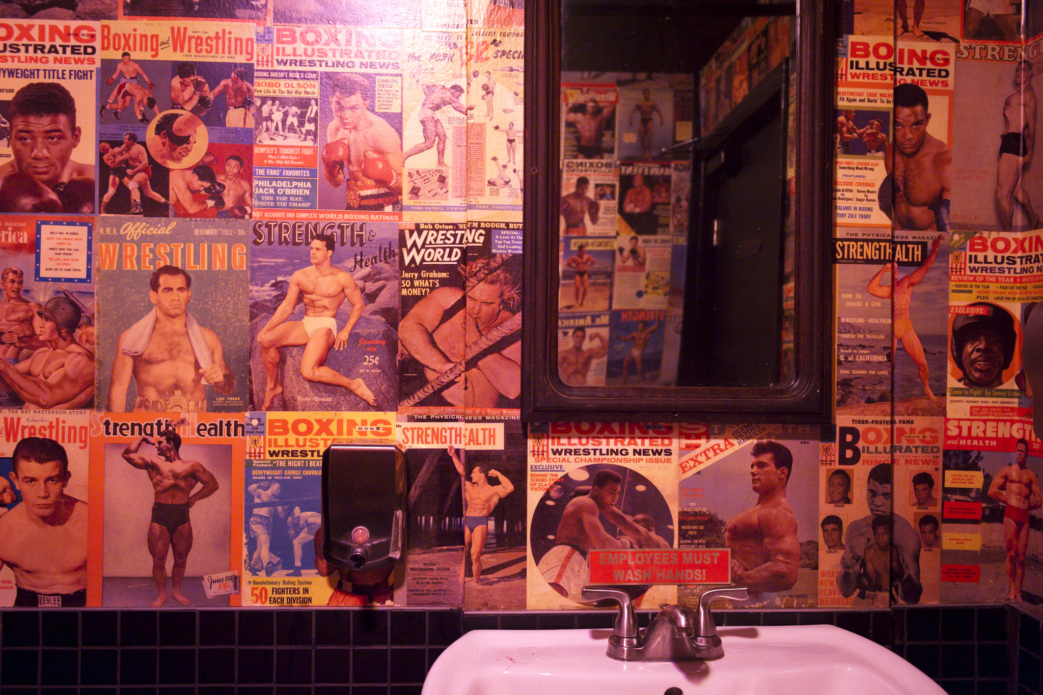 Best new bathrooms: Atlas Social Club
