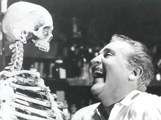 El esqueleto de la señora Morales