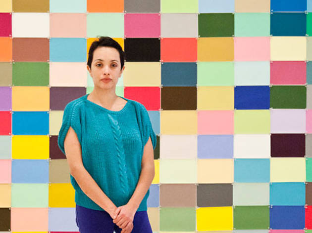 Color en la primera sala (Foto: Alejandra Carbajal)