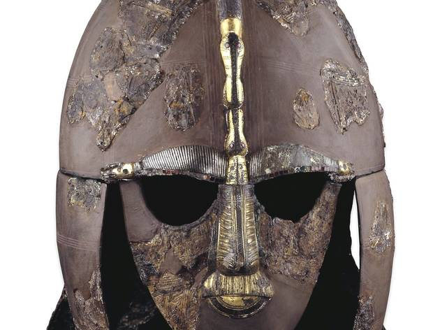 The Sutton Hoo Helmet (© The Trustees of the British Museum)