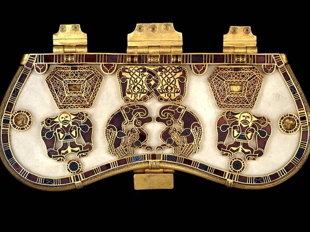 The Sutton Hoo Purse-Lid (© The Trustees of the British Museum)