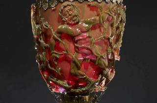 The Lycurgus Cup (© The Trustees of the British Museum)