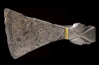 Silver-inlaid Axehead (© The National Museum of Denmark)
