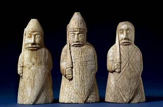 The Lewis Chessmen (© The Trustees of the British Museum)
