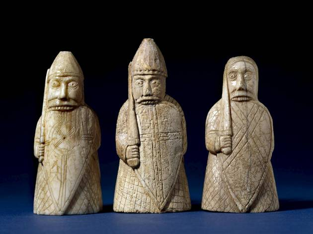 The Lewis Chessmen (© The Trustees of the British Museum)