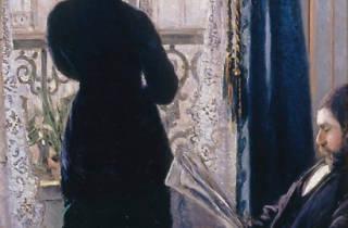 (Gustave Caillebotte, 'Intérieur, femme à la fenêtre', c. 1880 / Collection particulière / © Comité Caillebotte, Paris /  / Service  presse / musée Marmottan Monet)