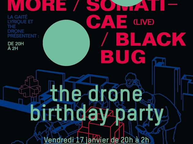 The Drone Birthday Party