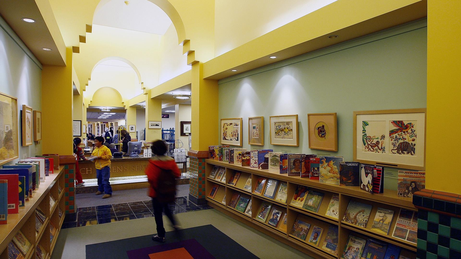 Children's Library at the Beverly Hills Public Library