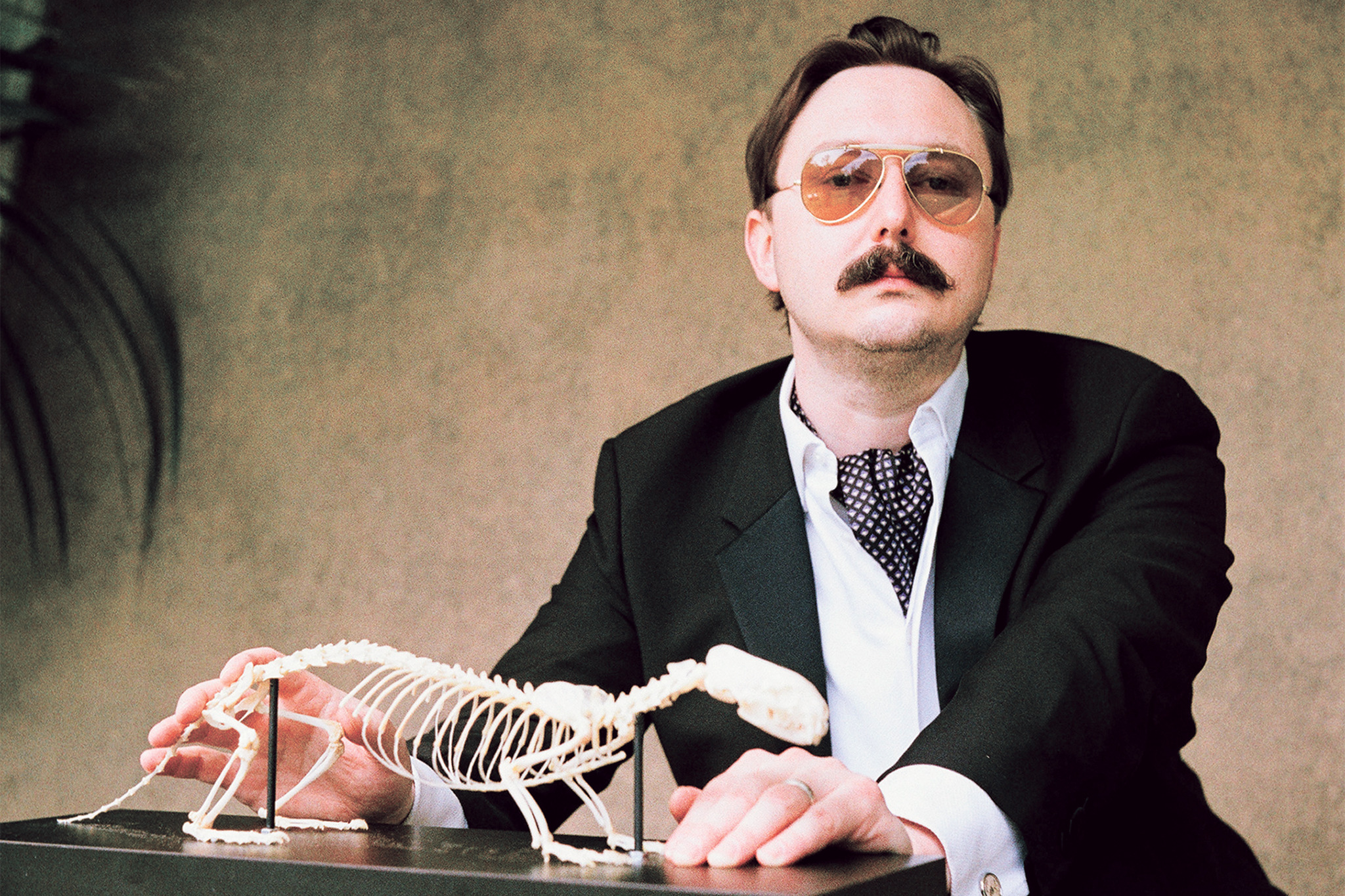 John Hodgman performing in John Hodgman: I Stole Your Dad, running January 10-18 at The Public Theater at Astor Place as part of the 10th Anniversary Under the Radar Festival.