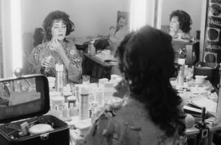 Terry O'Neill ('Elizabeth Taylor in makeup for A Little Night Music', 1977)