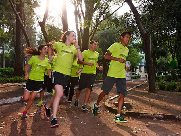 Nike Run Club, corredores
