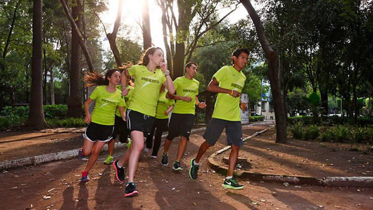 Nike Run Club, corredores