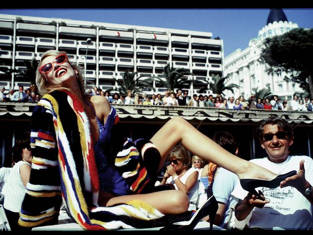 David Bailey ('Jerry Hall and Helmut Newton, Cannes', 1983)