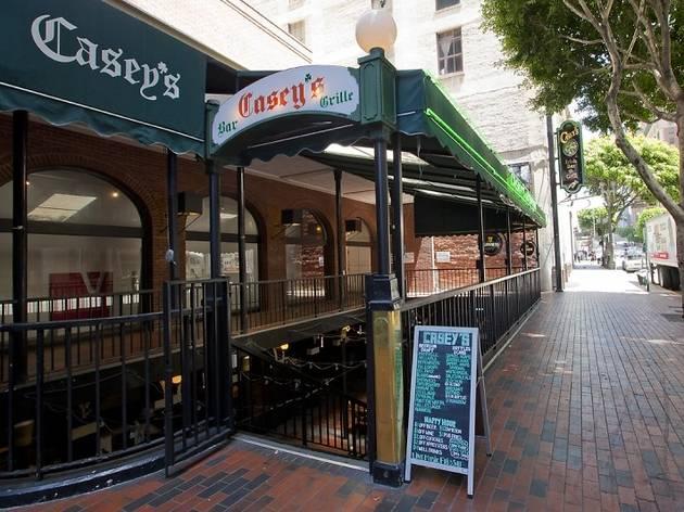Irish Hello at Casey's Irish Pub