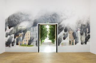 Jeremy Deller ('St Helier on Fire 2017', British Pavilion 2013)