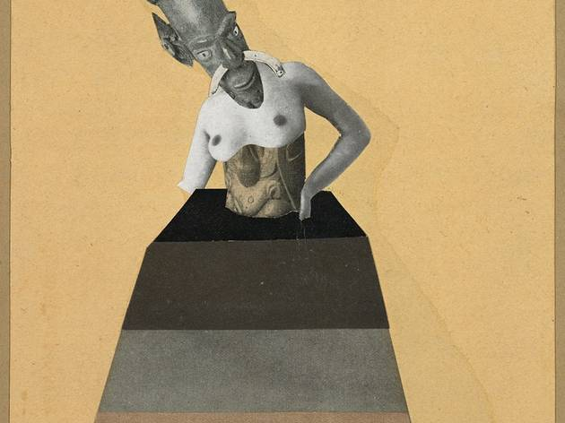 Hannah Höch ('Untitled, from the series: From an Ethnographic Museum' 1929, © Federal Republic of Germany - Collection of Contemporary Art)