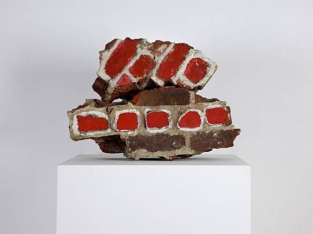 Marcel Broodthaers ('Etude d'un mur (Deux tas de briques)', 1966)