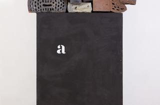 Marcel Broodthaers ('a, Esemble de briques', 1967-1968)
