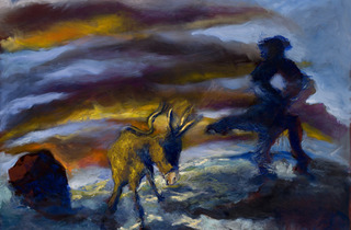 (Gérard Garouste, 'Le Crépuscule', 2013 / Courtesy de la galerie Daniel Templon, Paris)