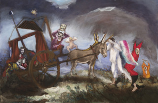 (Gérard Garouste, 'Le Théâtre de Don Quichotte', 2013 / Courtesy de la galerie Daniel Templon, Paris)