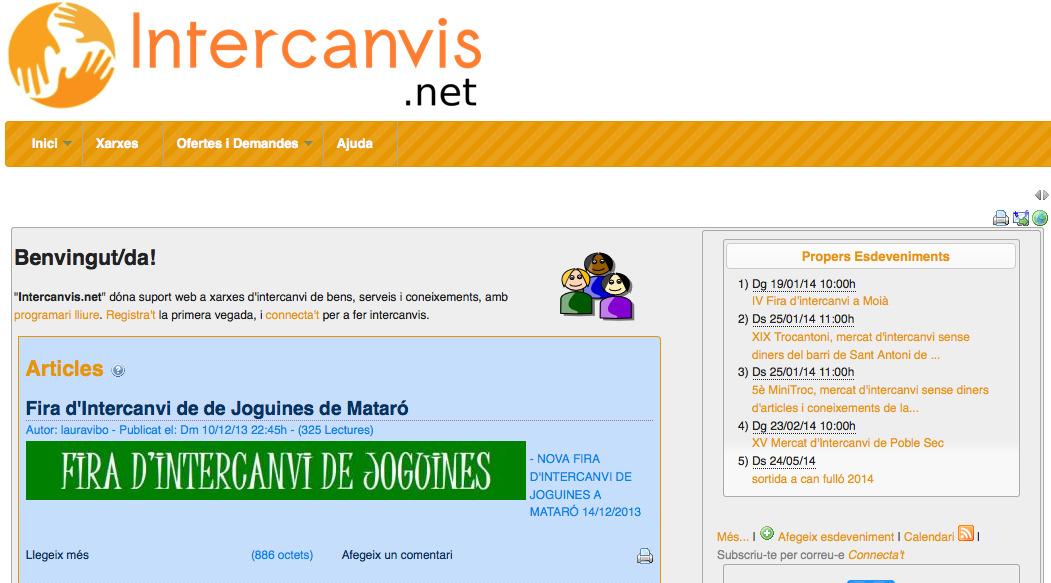 Intercanvis