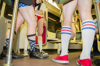No Pants Metro Ride 2014