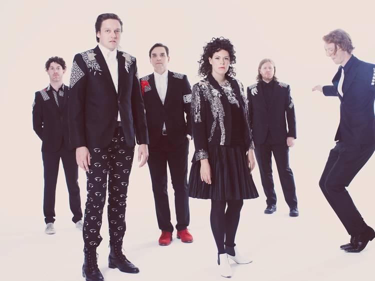 Entrevista a Arcade Fire