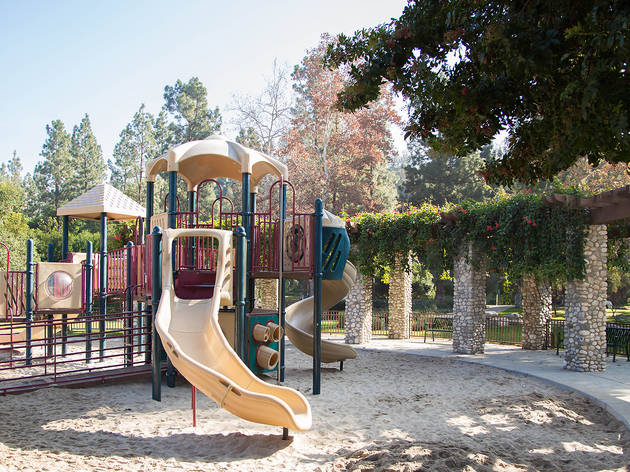 Coldwater Canyon Park playground