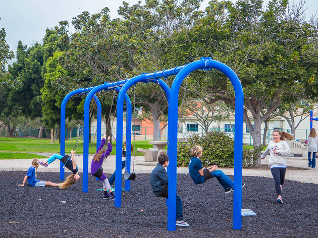 Polliwog Park playground