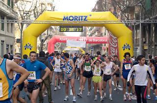 Festa Major de Sant Antoni 2014: 36a Cursa Popular del barri de Sant Antoni