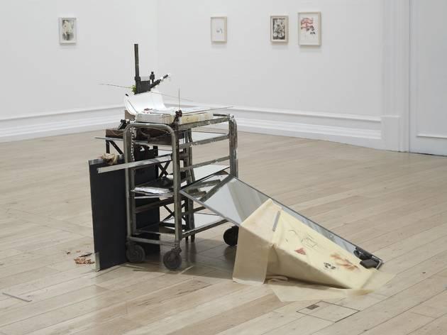 Uri Aran (Untitled (Five Minutes Before), 2013)
