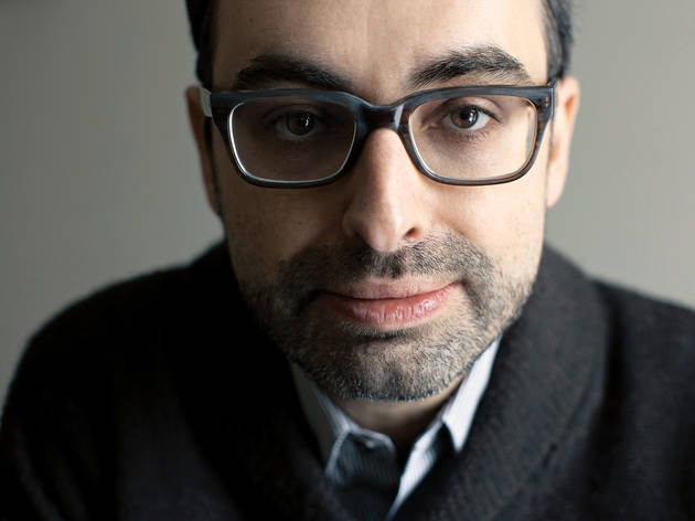 Dinner with Gary Shteyngart