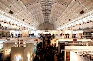 London Art Fair ( London Art Fair at Business Design Centre, Islington. Photo: James Champion )