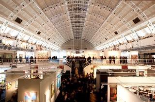 London Art Fair ( London Art Fair at Business Design Centre, Islington. Photo: James Champion )