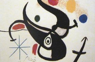 Joan Miró (Untitled, 1968, courtesy Gilden's Arts Gallery)