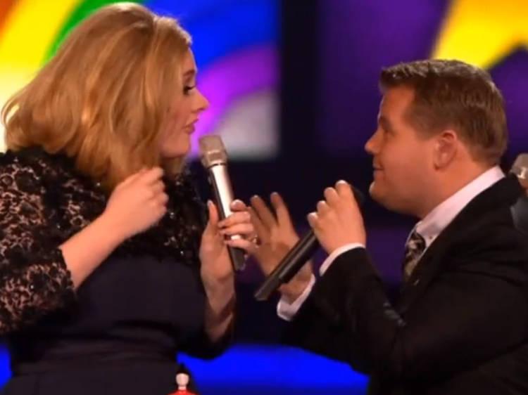 2012: Adele v Blur