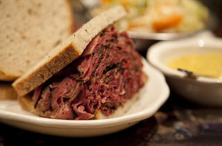 Pastrami Sandwich At 2nd Ave Deli