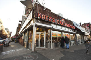 Katz's Delicatessan (Photograph: Virginia Rollison)