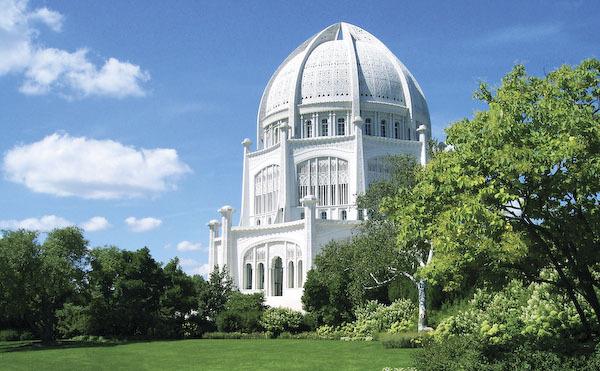 Bahá'í House of Worship, 100 Linden Ave, Wilmette