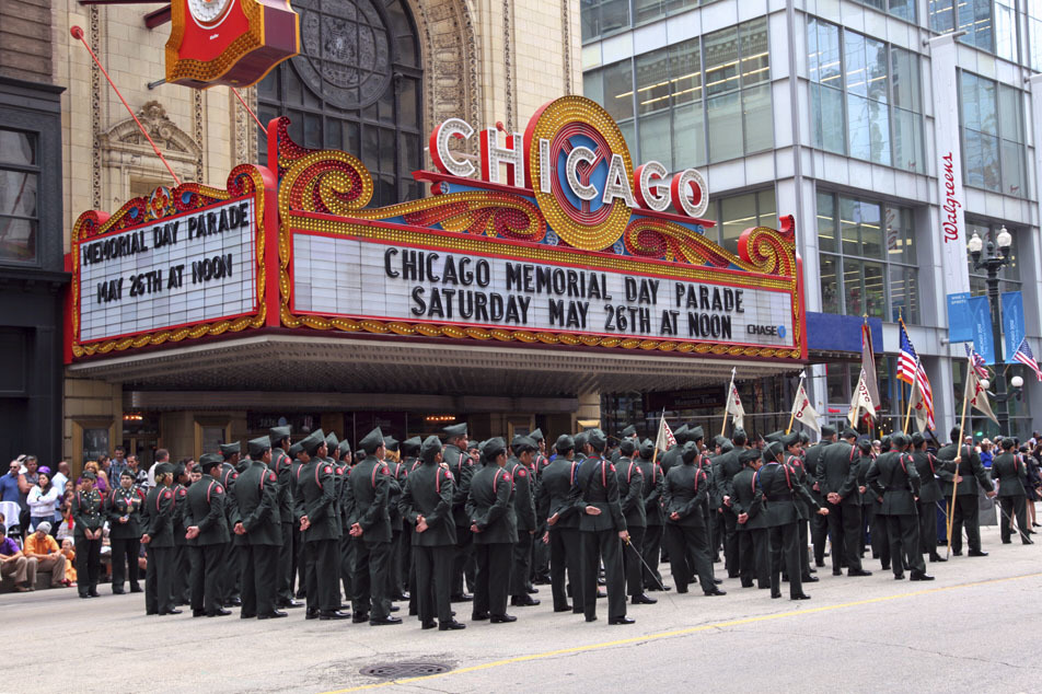 Memorial Day weekend in Chicago