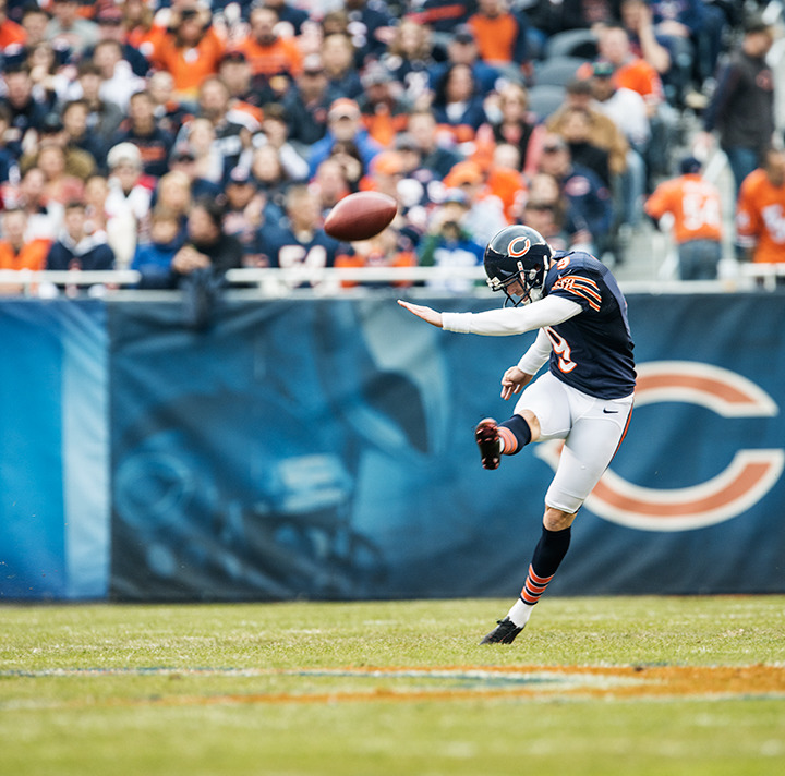 Shuffle over to Soldier Field for a Bears game