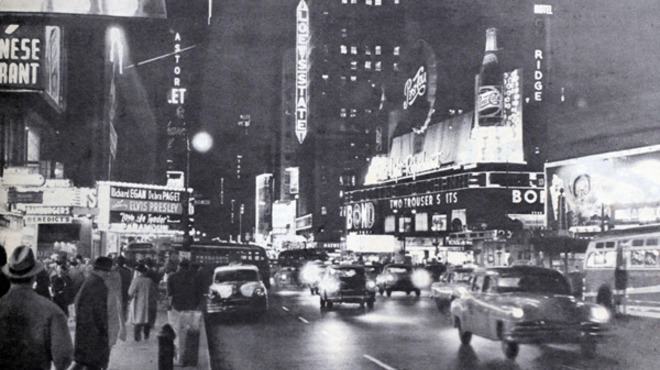 Photograph: Broadway circa 1957 from�Iryna1 / Shutterstock.com