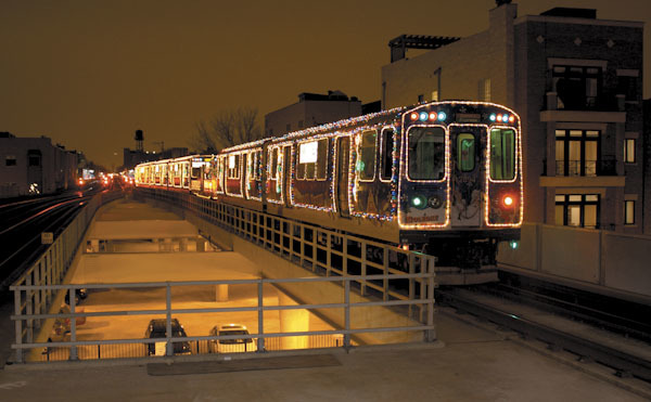 The CTA's Holiday Train returns this weekend