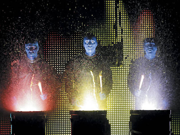Blue Man Group New Year's Eve Show